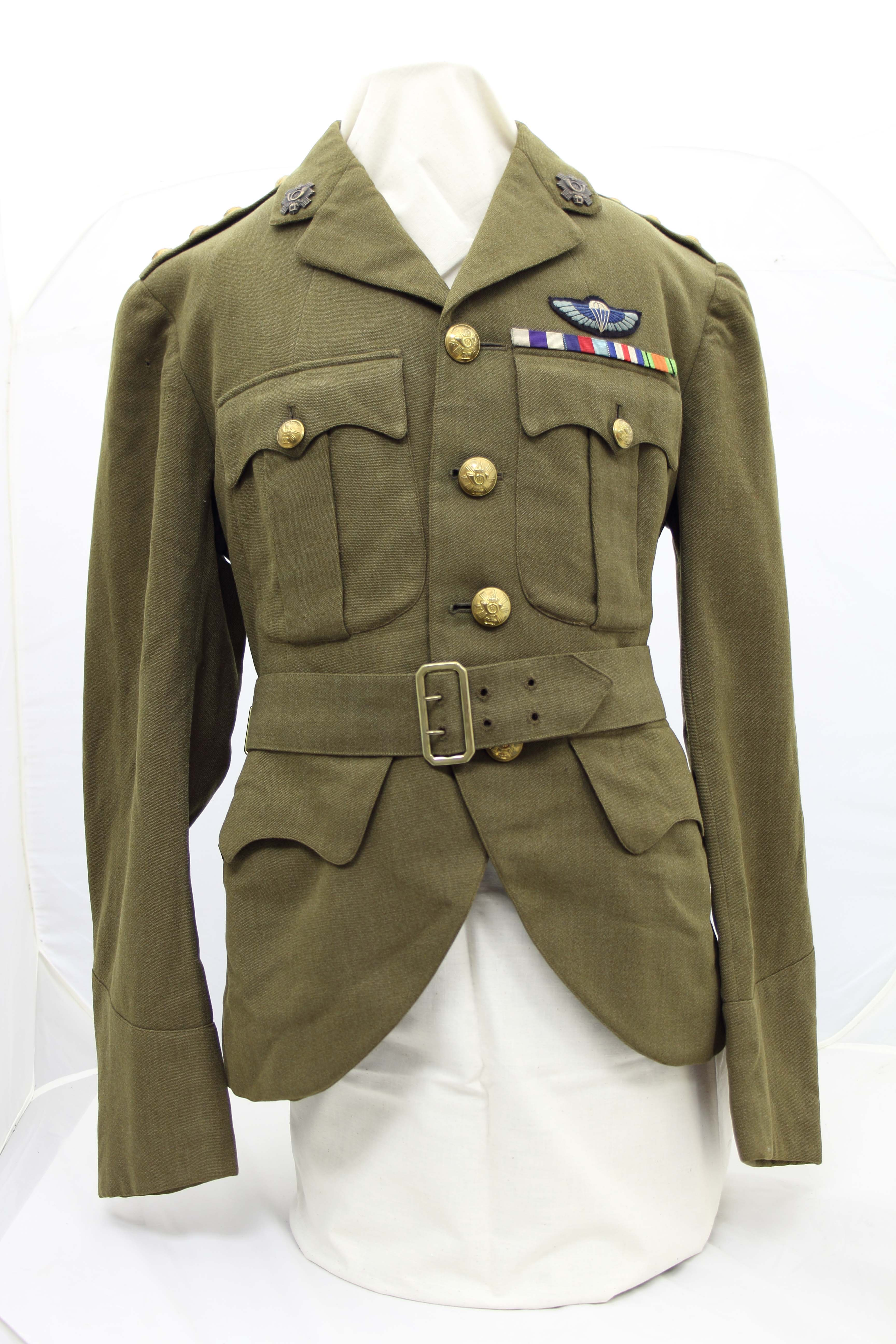 Cecil Ridings Military Jacket