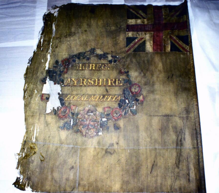 3rd Ayrshire Local Militia Regimental Colour