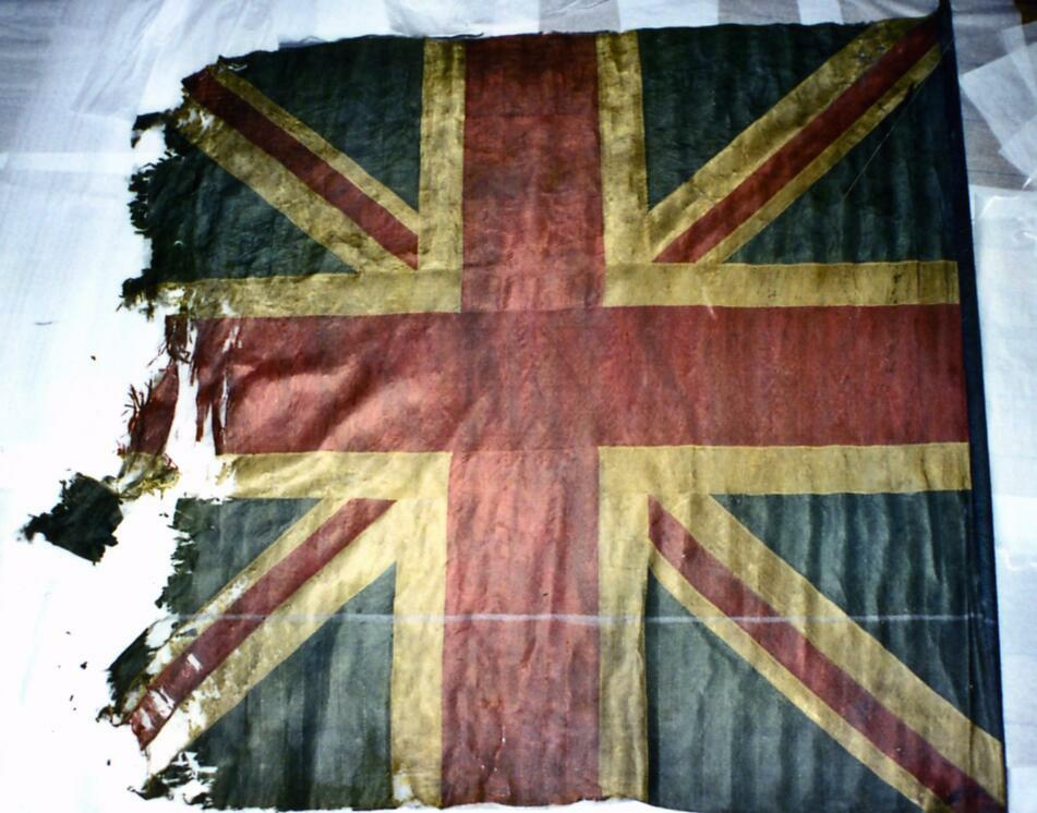 3rd Ayrshire Local Militia King's Colour