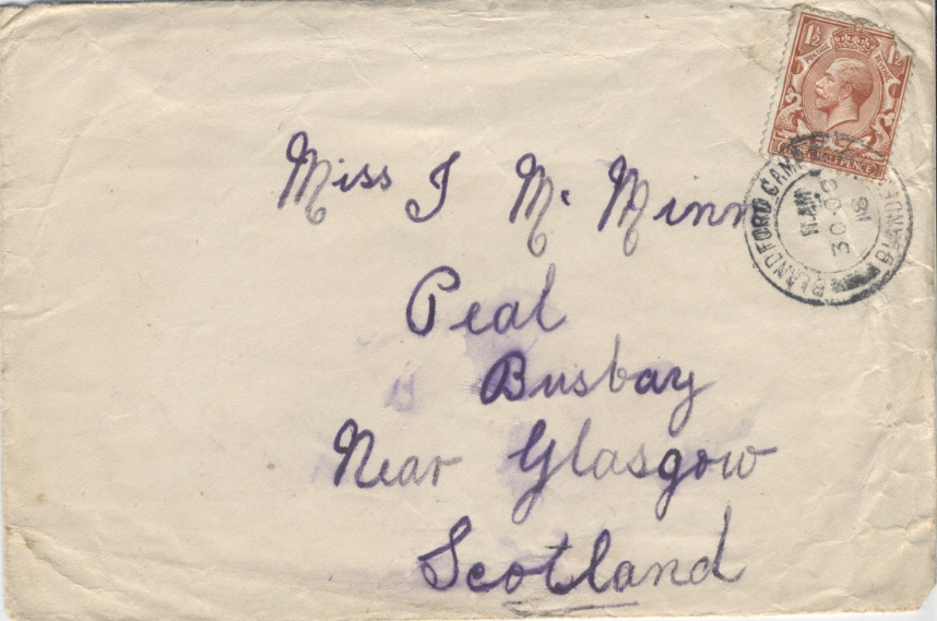 Sanquhar's Story - Words from the Great War