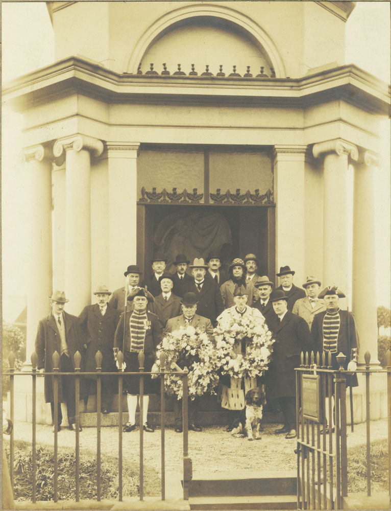 Wreath Laying, 1925