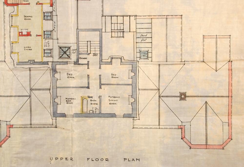 the garrick cottage hospital  stranraer proposed extension