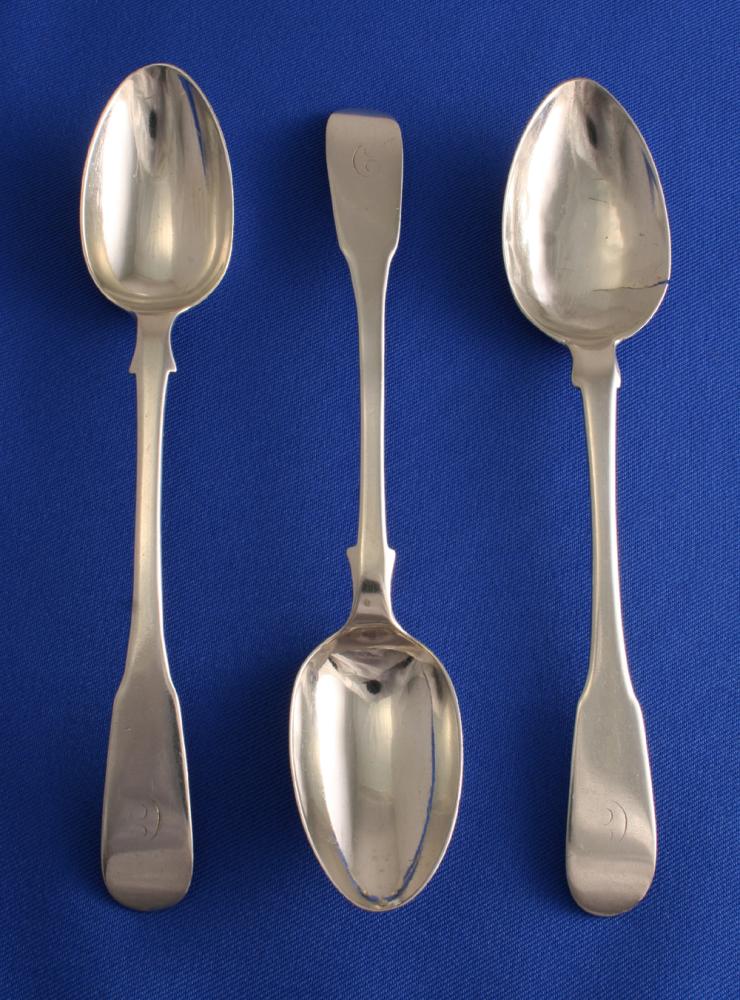 Tea Spoons Fiddle Pattern 2