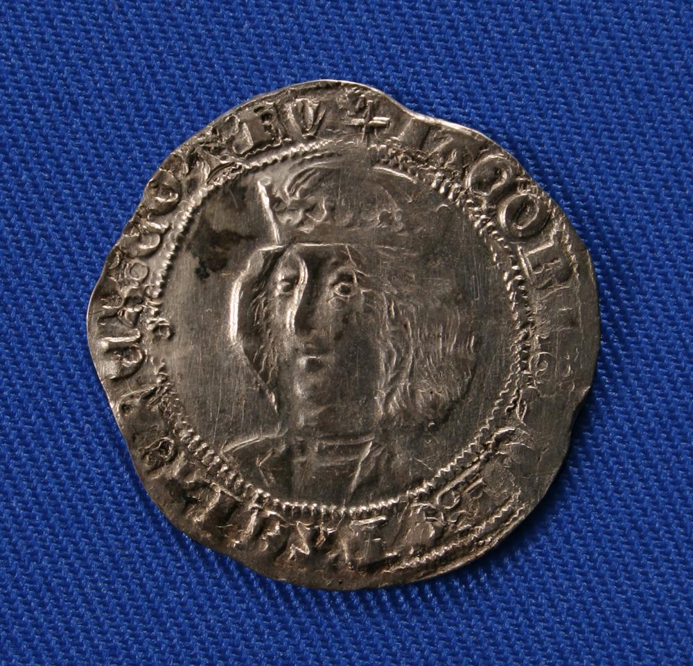 Silver Groat Of James Iii