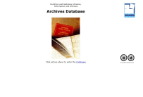 Dumfries and Galloway Libraries, Information and Archives - Archives Database