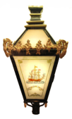 Restored Provosts' lamp on show at Stranraer Museum